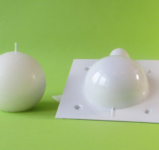 ball candle mould