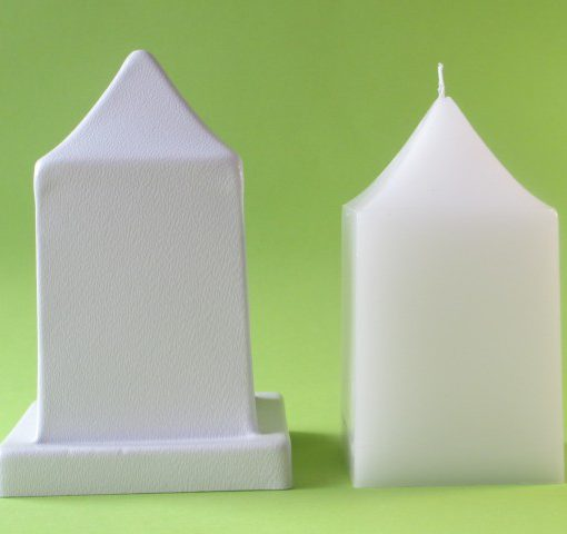tall pointy square mould