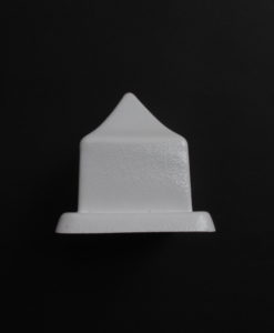 short pointy candle mould