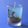 gel candle with sea theme