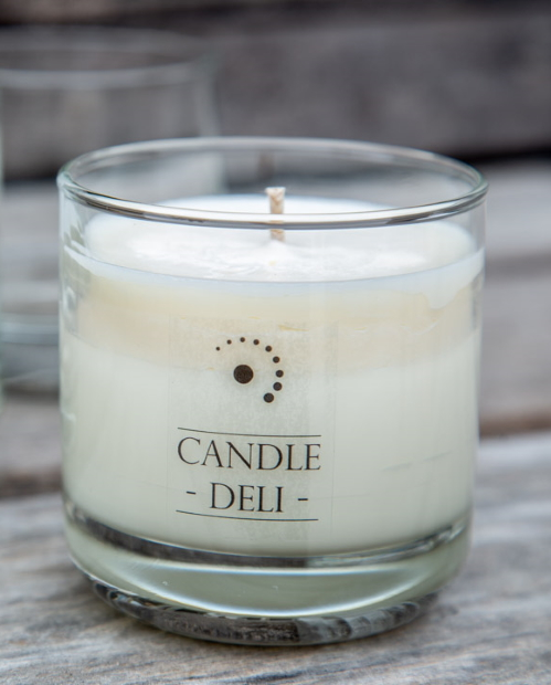 240ml candle container with thick bottom