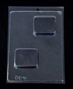 plain rectangle soap mould