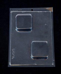 plain square soap mould